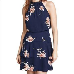 BB Dakota Tiered Mini Dress